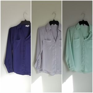 Set of 3 Express Portofino Shirts
